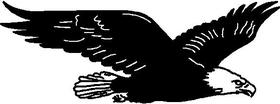 Eagle Decal / Sticker 09
