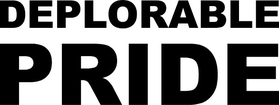 Deplorable Pride Decal / Sticker 03