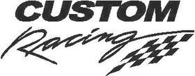 CUSTOM Racing Decal / Sticker