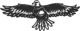 Eagle Decal / Sticker 01