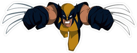 X-men Wolverine Decal / Sticker 01