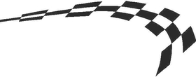Checkered Flag Decal / Sticker 47