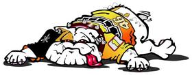 Valentino Rossi Dog Decal / Sticker 01