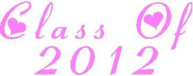 Class Of 2012 Decal / Sticker