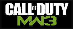 Call of Duty MW3 Decal / Sticker
