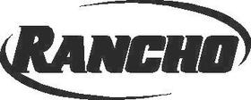 Rancho Decal / Sticker 01