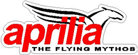 Aprilia The Flying Mythos Decal / Sticker