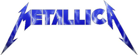 Metallica Blue Lightning Decal / Sticker