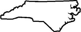 North Carolina Decal / Sticker 02