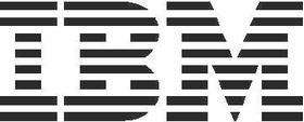 IBM Decal / Sticker 01