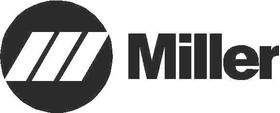 Miller Weld Decal / Sticker 02