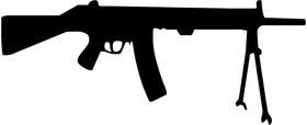 Markarov 01 Gun Decal / Sticker