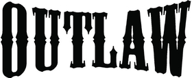 Flowmaster Outlaw Series Decal / Sticker 06