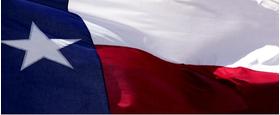 Texas Flag Decal / Sticker 01
