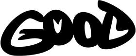 Good Evil Decal / Sticker 01