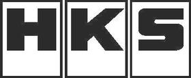 HKS Decal / Sticker BLOCK DESIGN
