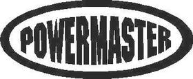 Powermaster Decal / Sticker
