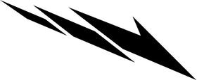 Yamaha Stripe Decal / Sticker 01 Set of 2