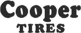 Cooper Tires Decal / Sticker 02