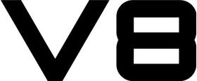 V8 Decal / Sticker 02
