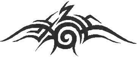 Tribal Decal / Sticker 20