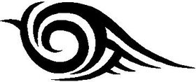 Tribal Decal / Sticker 40