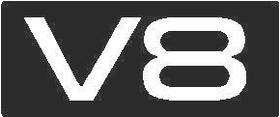 V8 Decal / Sticker 01