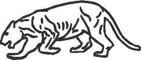 Big Cat Decal / Sticker