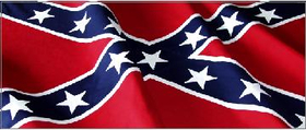 Confederate Flag Decal / Sticker