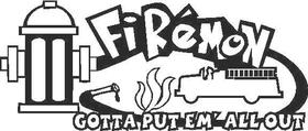 FireMon Decal / Sticker