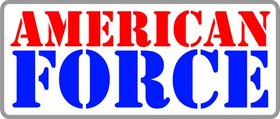 American Force Wheels Decal / Sticker 01