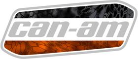 Can-Am Kryptek Camo Decal / Sticker 56