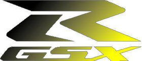 Black to Yellow GSXR Decal / Sticker