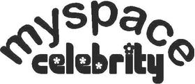 MySpace Celebrity Decal / Sticker