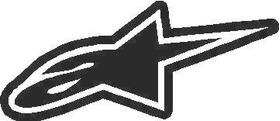 Alpinestars 04 Decal / Sticker