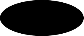 Oval Decal / Sticker