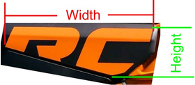 2020 Can-Am X3 XRC Drivers Door Decal / Sticker 04