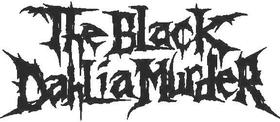 The Black Dahlia Murder Decal / Sticker