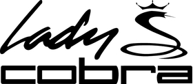 Lady Cobra Golf Decal / Sticker 07