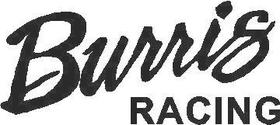 Burris Racing Decal / Sticker