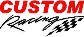 Custom Racing Decal / Sticker 01