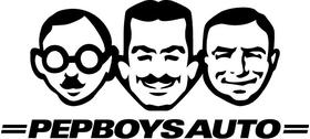 Pep Boys Decal / Sticker 02