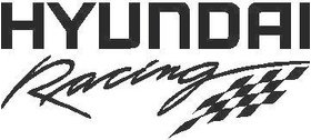 Hyundai Racing Decal / Sticker 02