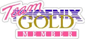 Phoenix Gold Decal / Sticker