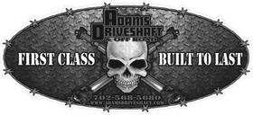 Adams Driveshaft Grayscale Decal / Sticker 05