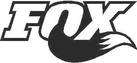 Fox Racing Shox Decal / Sticker 02