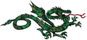 Dragon Decal / Sticker 17