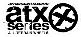 American Racing ATX Series Decal / Sticker 10