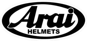 Arai Helmets Decal / Sticker 02
