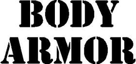 Body Armor Decal / Sticker 01